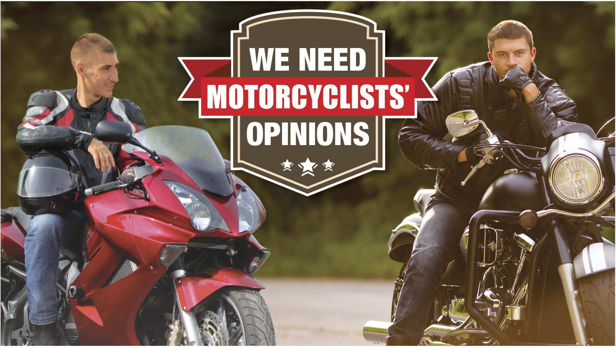 MC motocycle survey header image